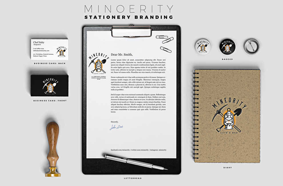 Minoerity stationary branding